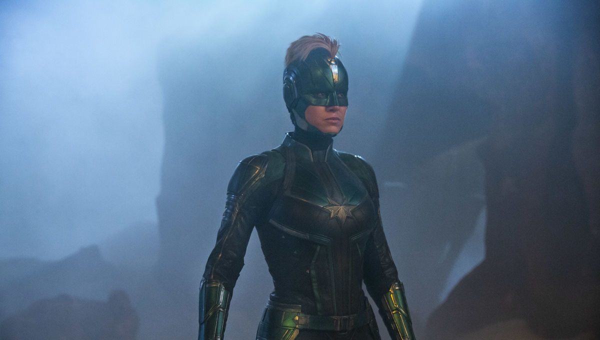 Brie Larson Captain Marvel Carol Danvers