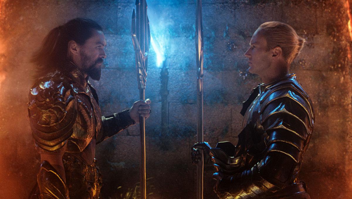 Aquaman Jason Momoa and Patrick Wilson
