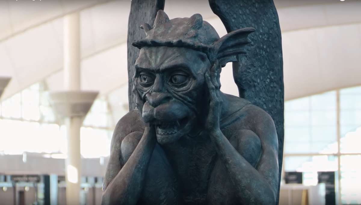 Chatty Gargoyle Denver Airport