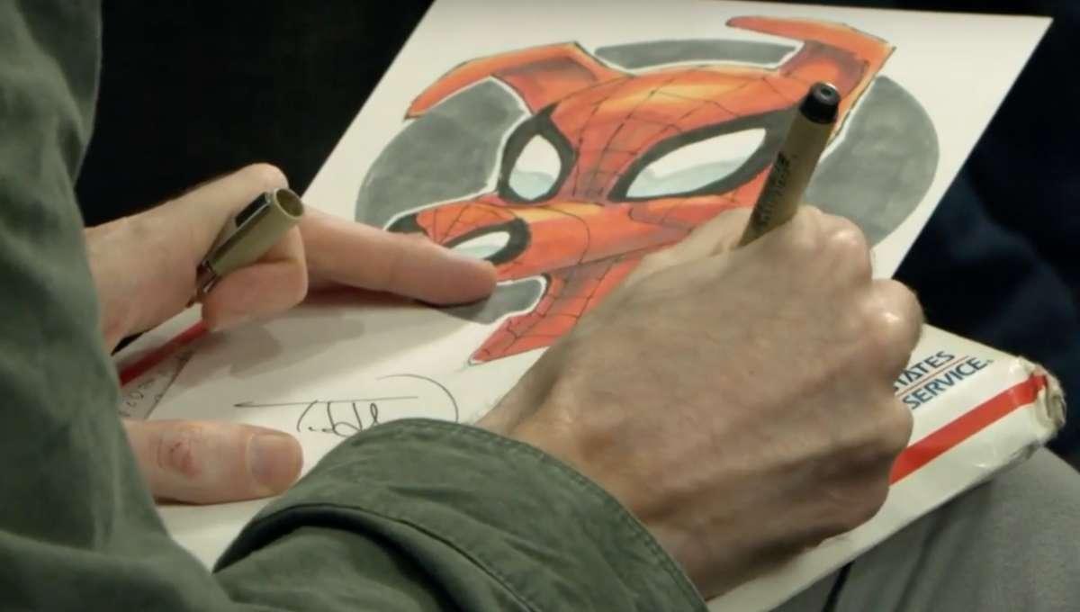 Todd Nauck draws Spider-Ham