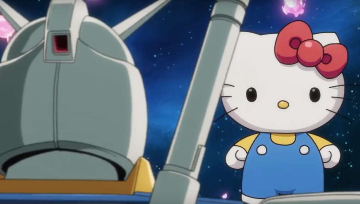 Hello Kitty vs. Mobile Suit Gundam