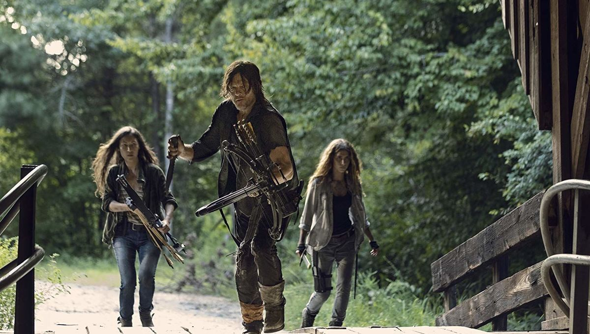 The Walking Dead Norman Reedus, Eleanor Matsuura, Nadia Hilker