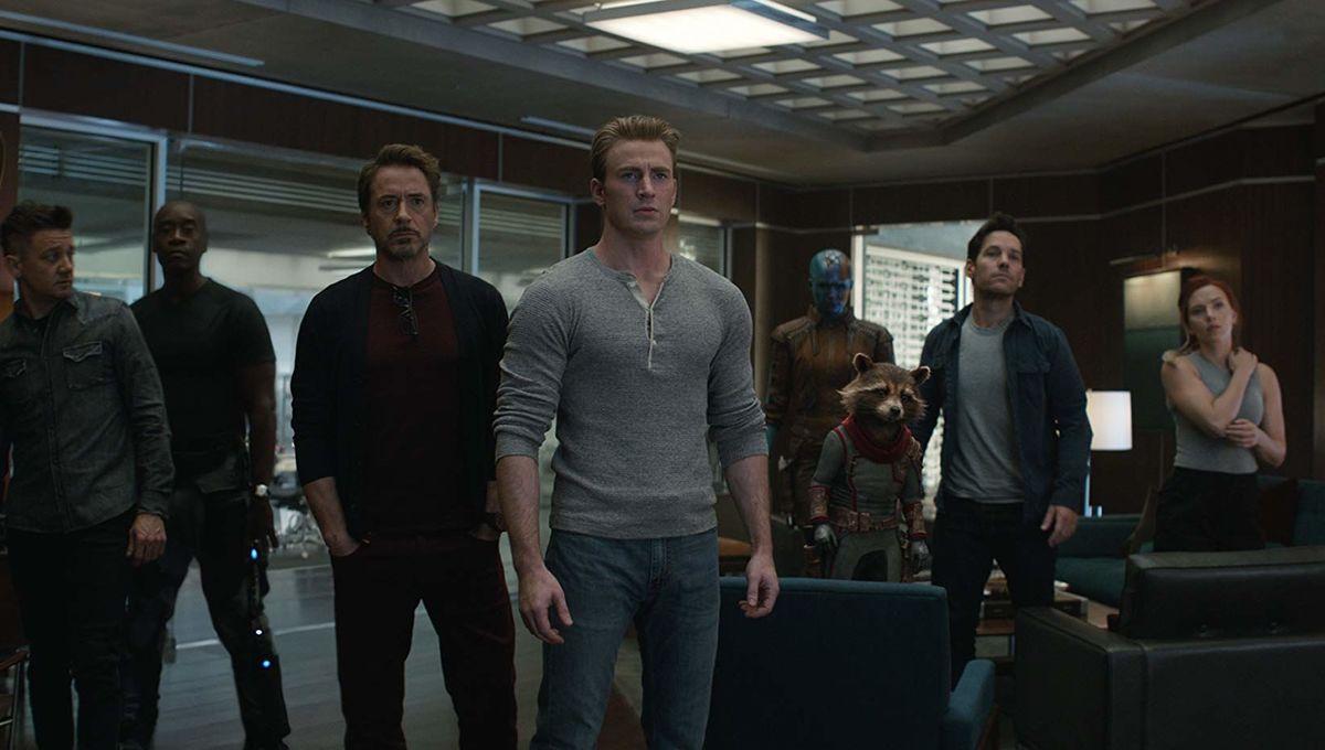 Avengers: Endgame group shot