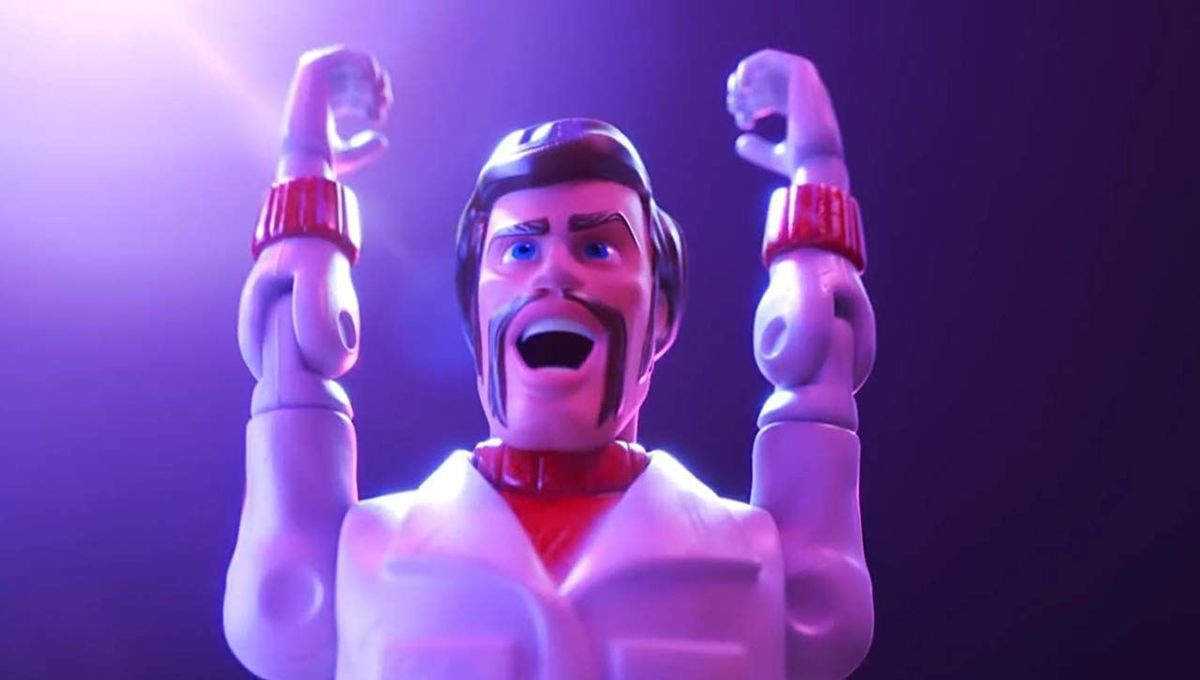 Duke Caboom in Toy Story 4