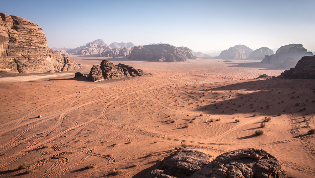 Dune movie location Wadi Rum in southern Jordan