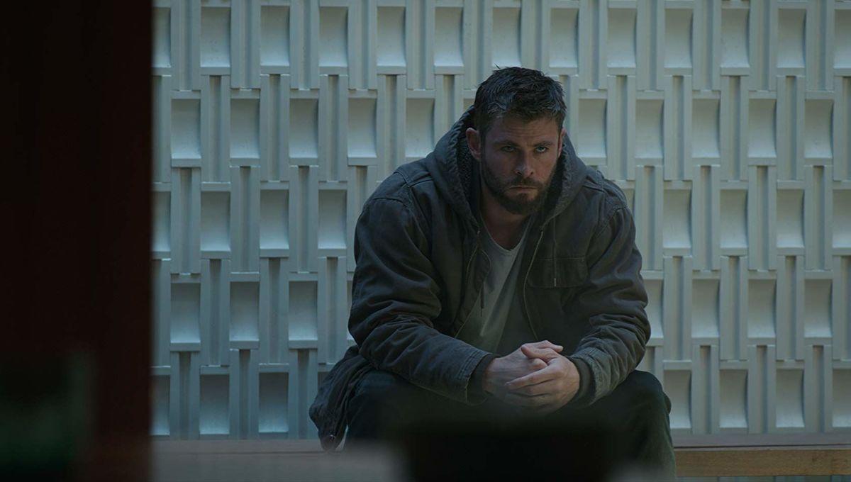 Avengers: Endgame Thor sitting