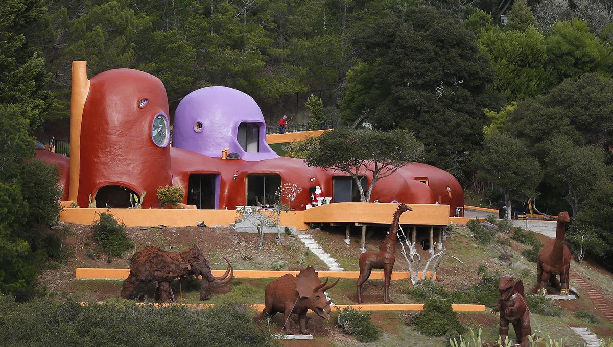 Flintstones House California by Getty