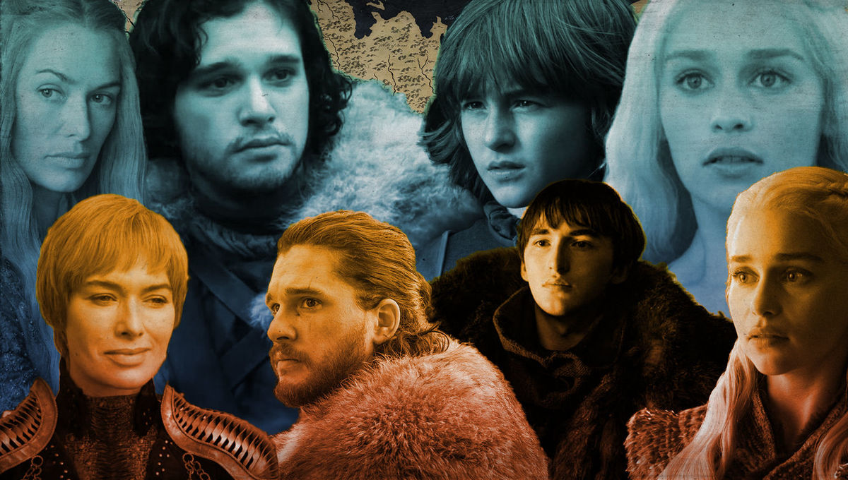 Game of Thrones Where are the main characters coming from