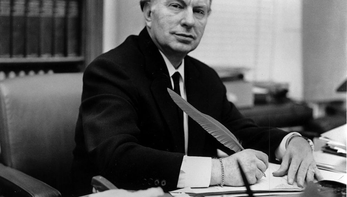 L Ron Hubbard Getty Images