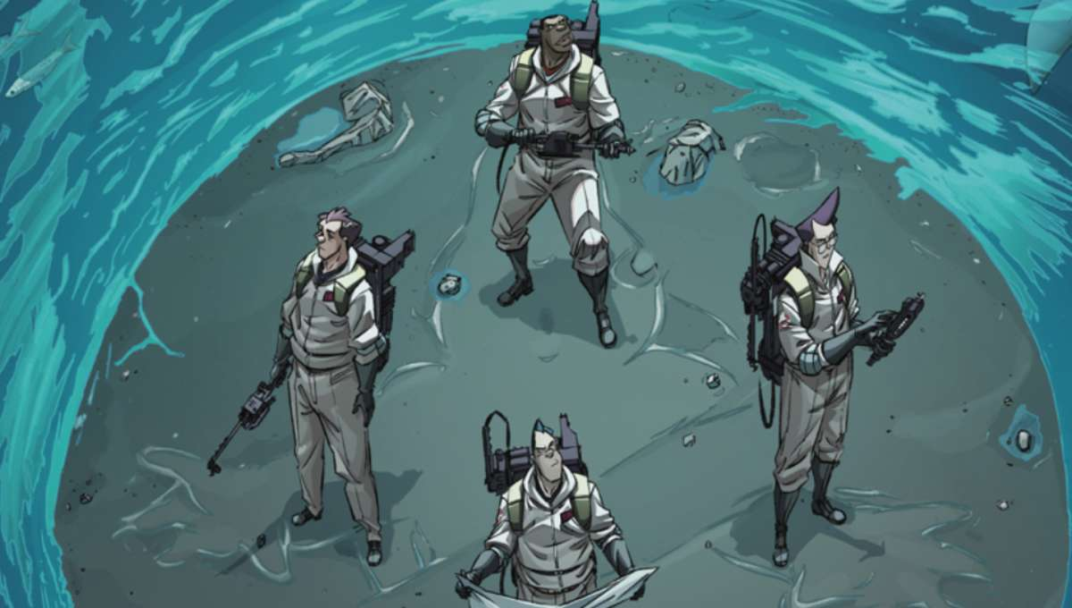 IDW's Ghostbusters 35th Anniversary one-shot