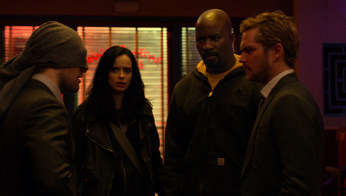 The Defenders on Netflix