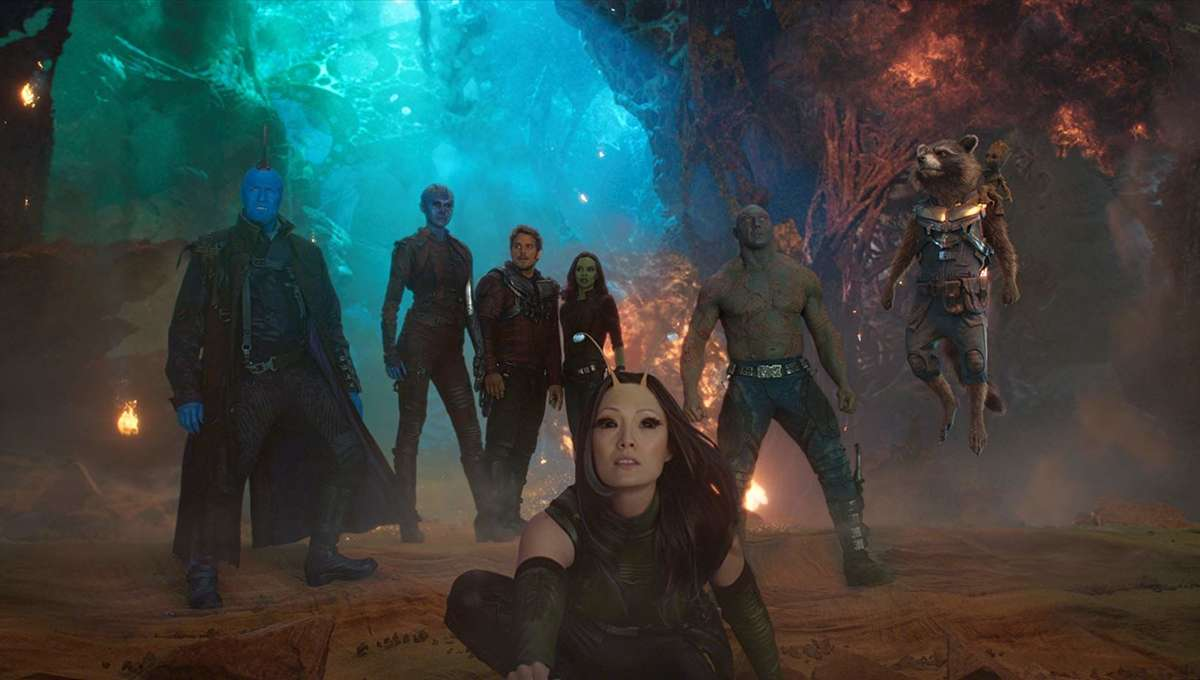 Guardians of the Galaxy Vol. 2 group shot