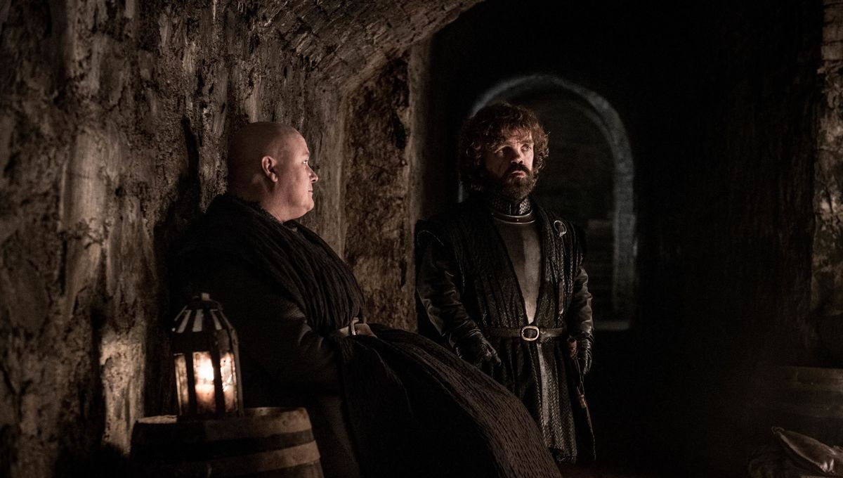 Tyrion Lannister and Varys in Game of Thrones