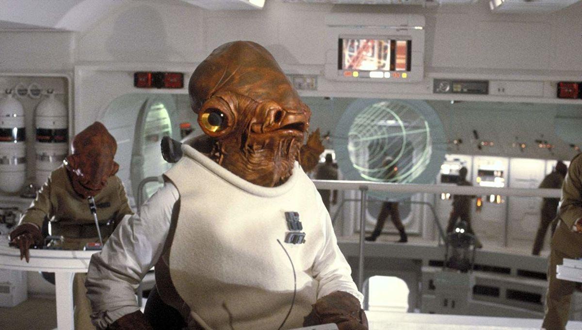 Admiral Ackbar in Star Wars: Return of the Jedi
