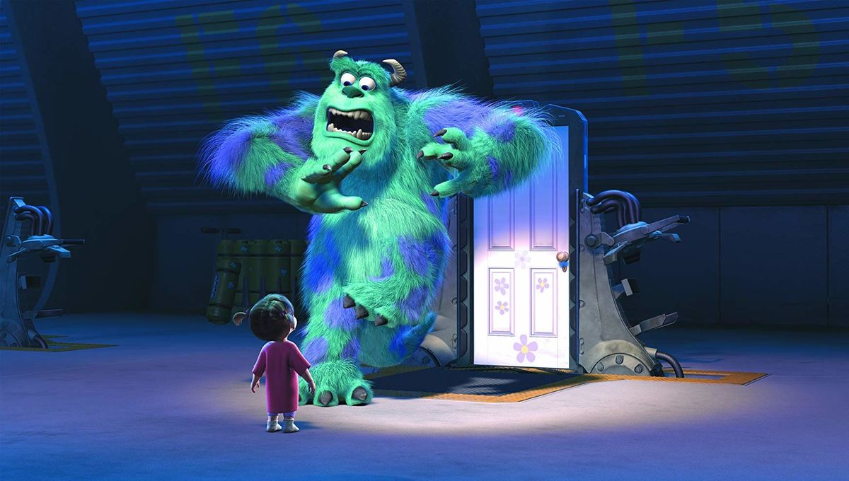 Monsters Inc. Sully and Boo