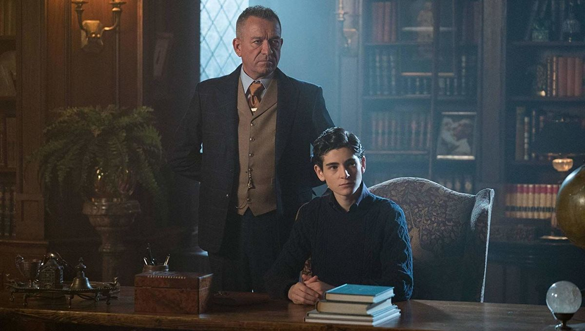 Gotham Bruce Wayne and Alfred Pennyworth