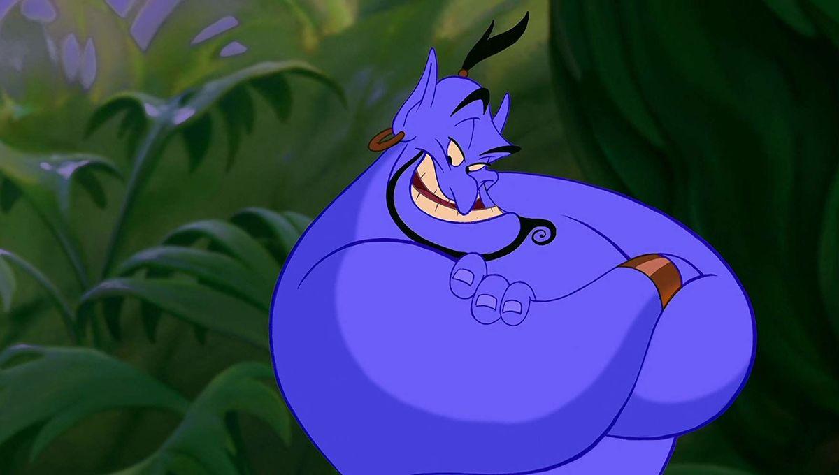 Robin Williams' Genie in Aladdin (1992)