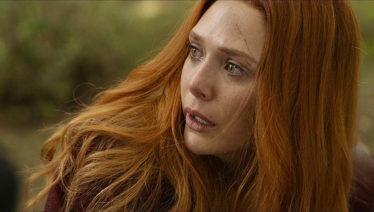 Scarlet Witch Elizabeth Olsen, Avengers: Infinity War