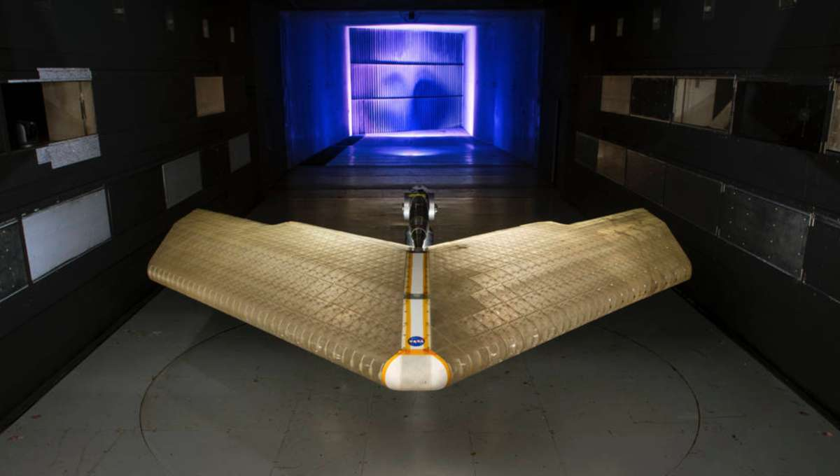 NASA MADCAT shapeshifting plane wing