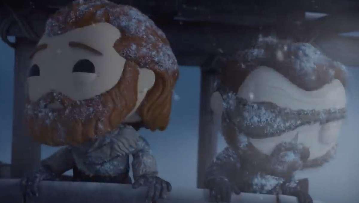 Game of Thrones Funko Pop scene