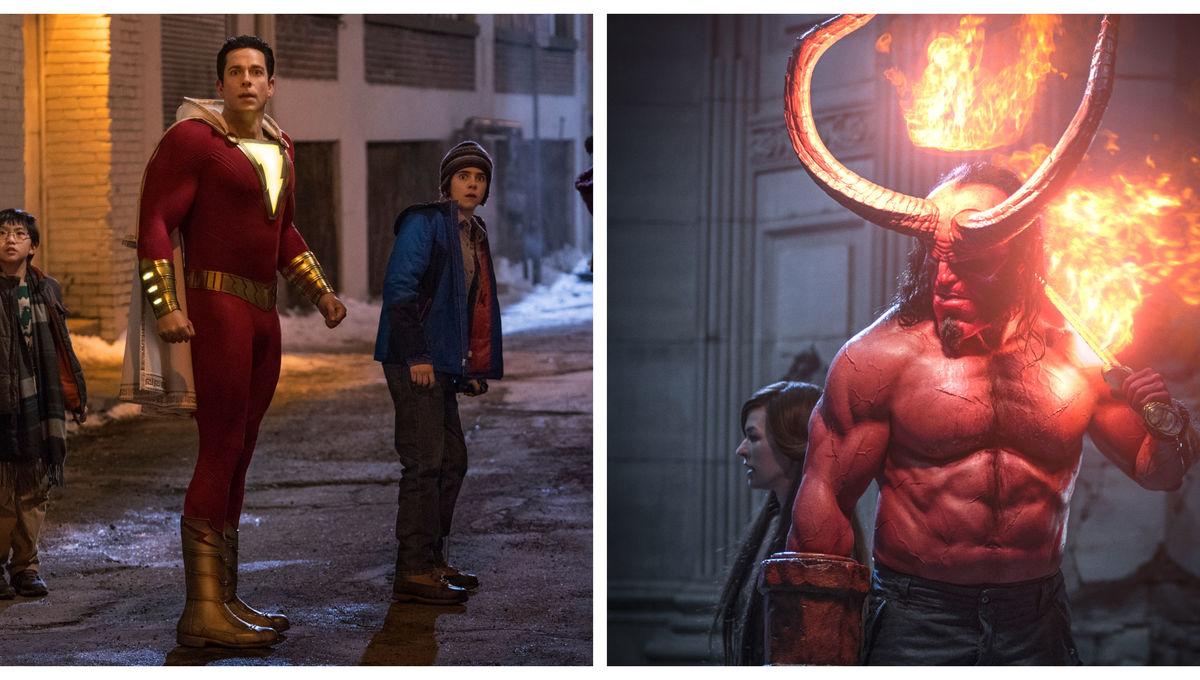 Shazam & Hellboy