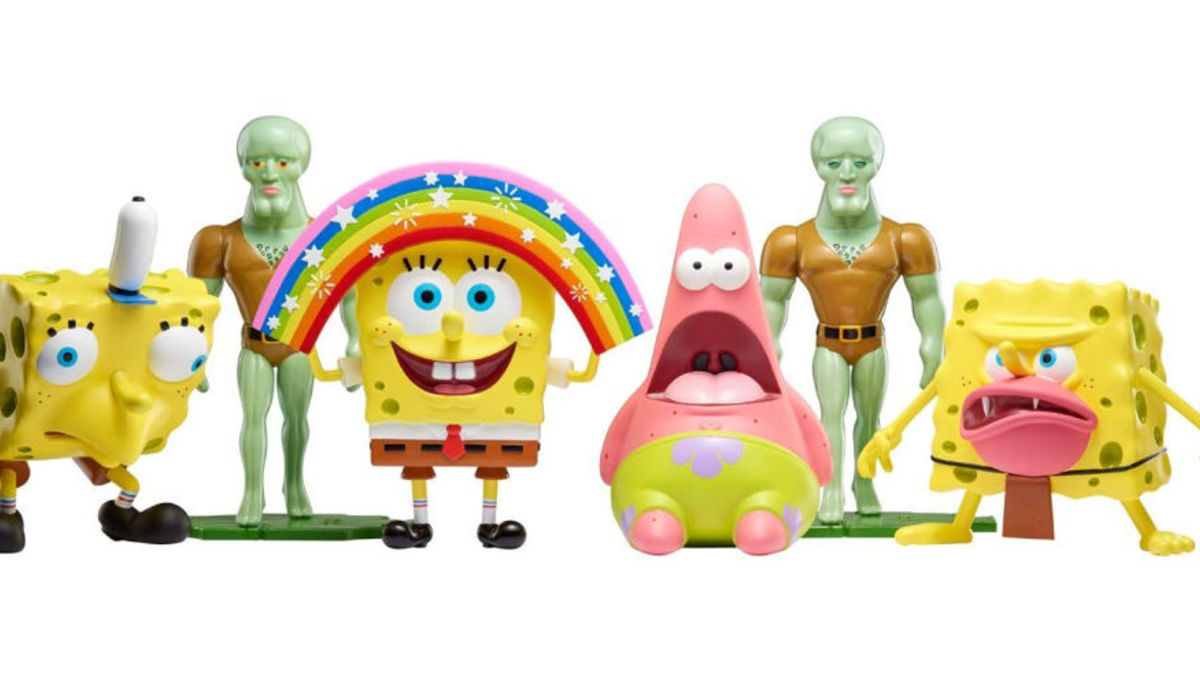 Spongebob Meme Toys