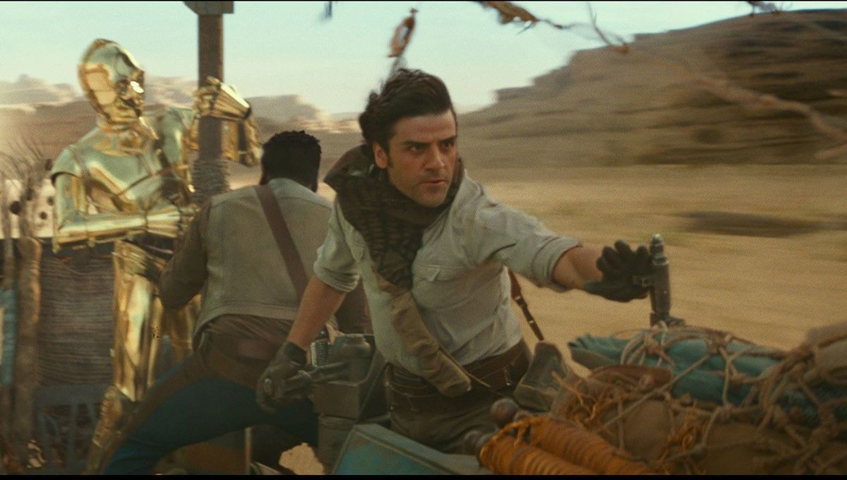 Oscar Isaac as Poe Dameron in Star Wars: Episode IX
