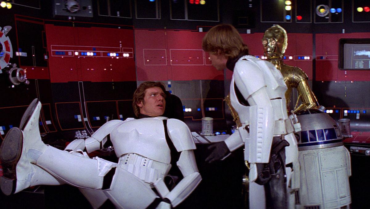 Star Wars Han and Luke Stormtroopers