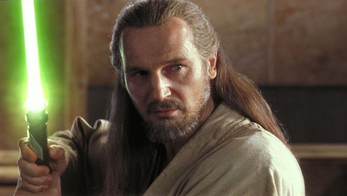 Star Wars The Phantom Menace Qui-Gon Jinn