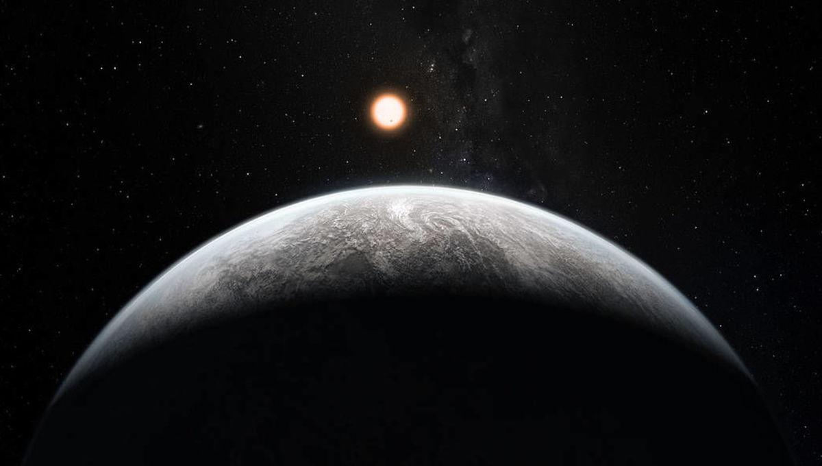 NASA TESS image of a super-Earth