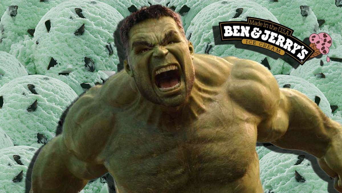 The Hulk Ben and Jerrys
