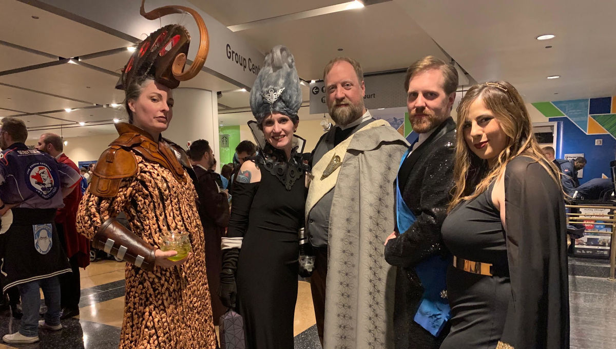 Canto Bight cosplay at Star Wars Celebration 2019