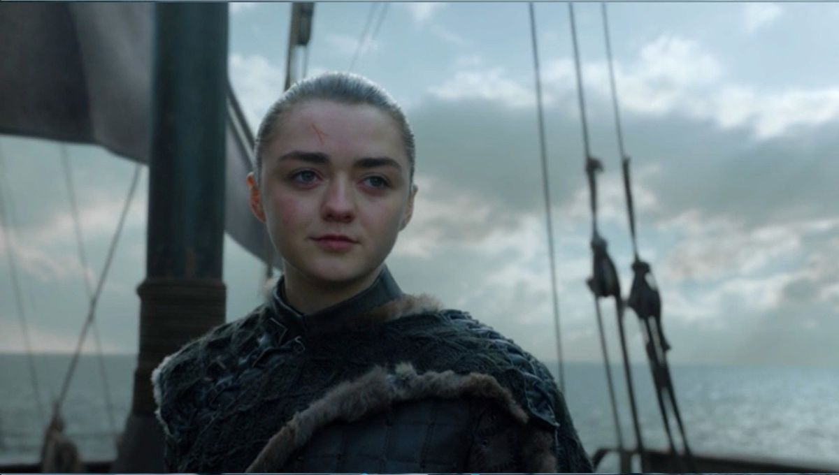Arya in The Iron Throne Game of Thrones