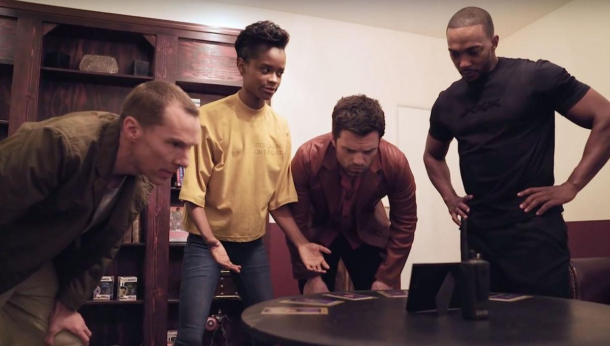Avengers Endgame cast tries to flee Marvel themed escape room