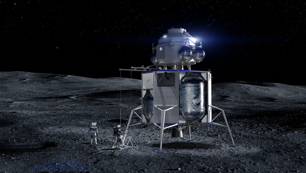 Blue Origin Lunar Lander, Blue Moon