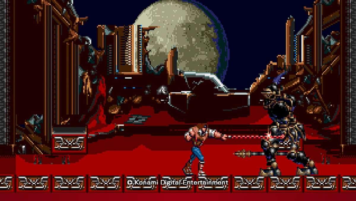 Castelvania Bloodlines gameplay