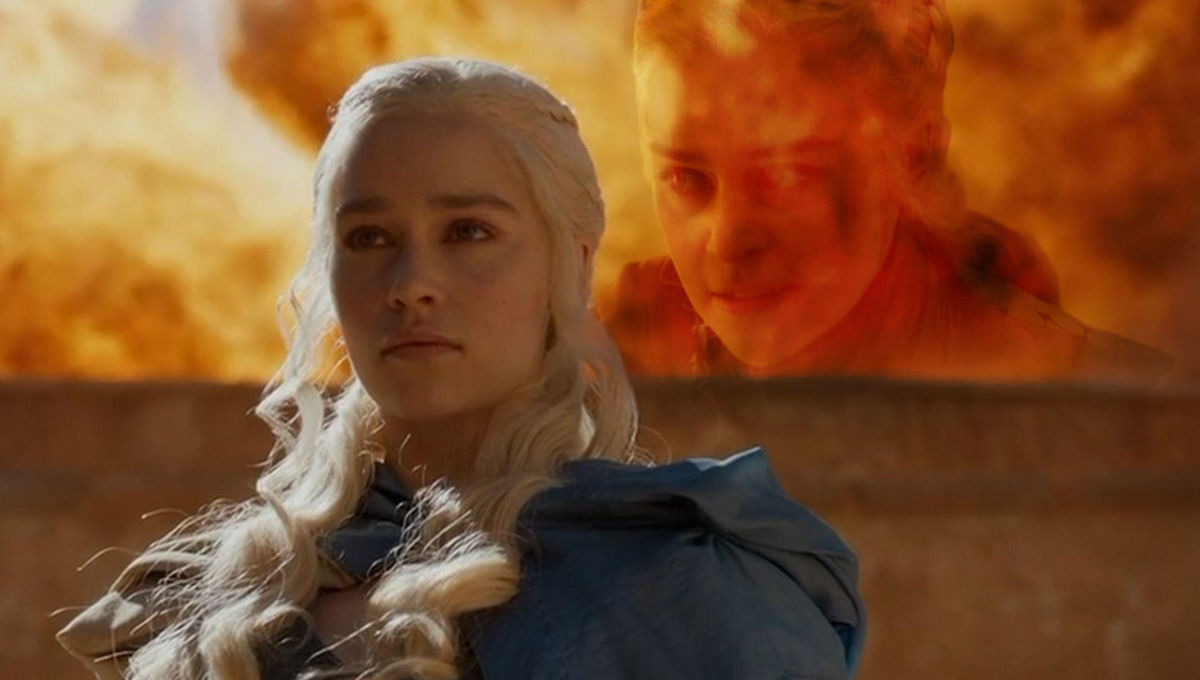 Dany in Game of Thrones