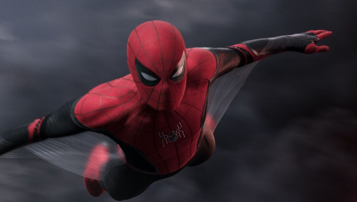 Spider-Man: Far From Home flying suit