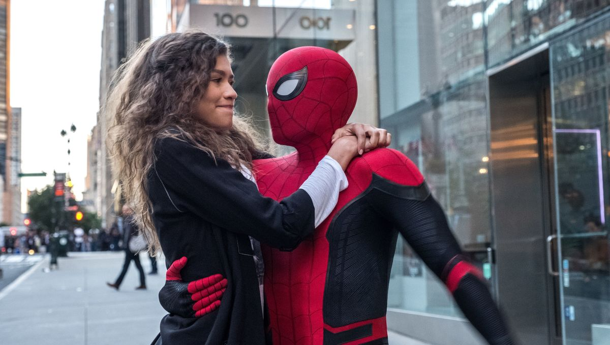 Spider-Man: Far From Home Peter and MJ