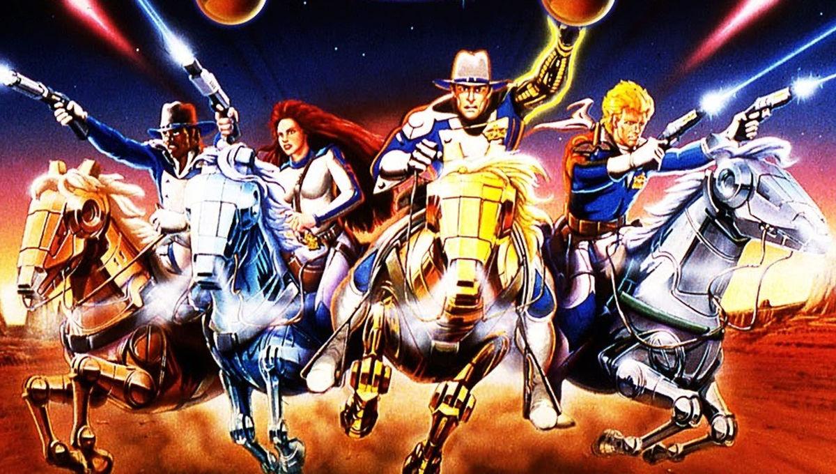 Galaxy Rangers DVD cover