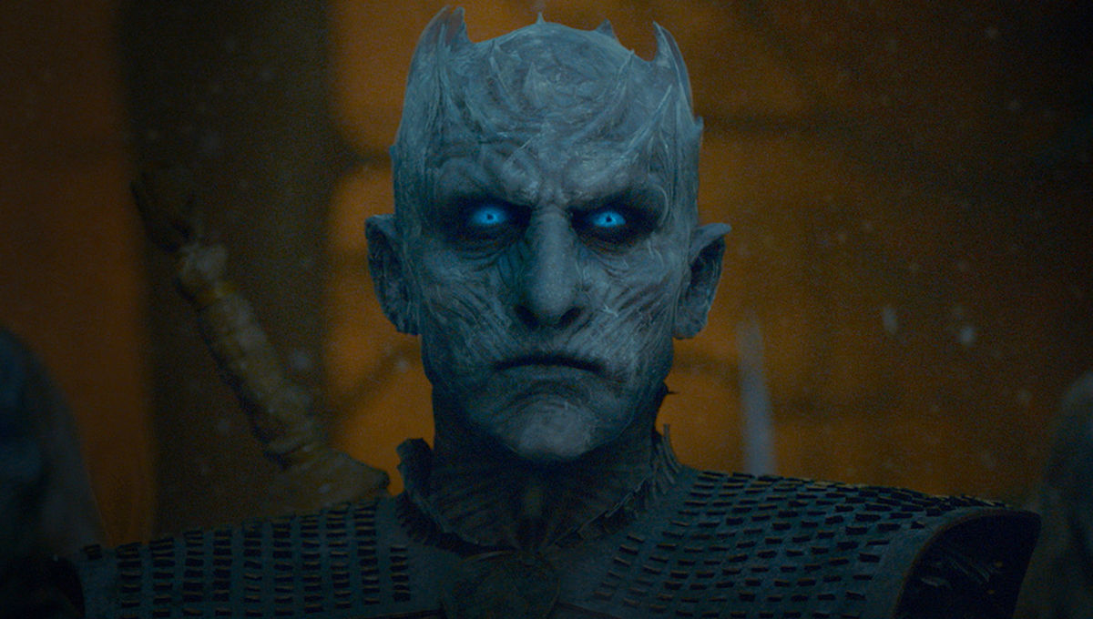 The Night King in Game of Thrones on HBO