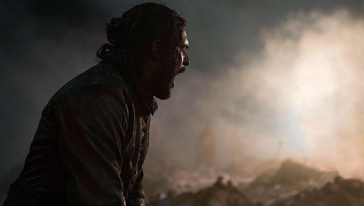 Jon Snow in Game of Thrones: The Long Night