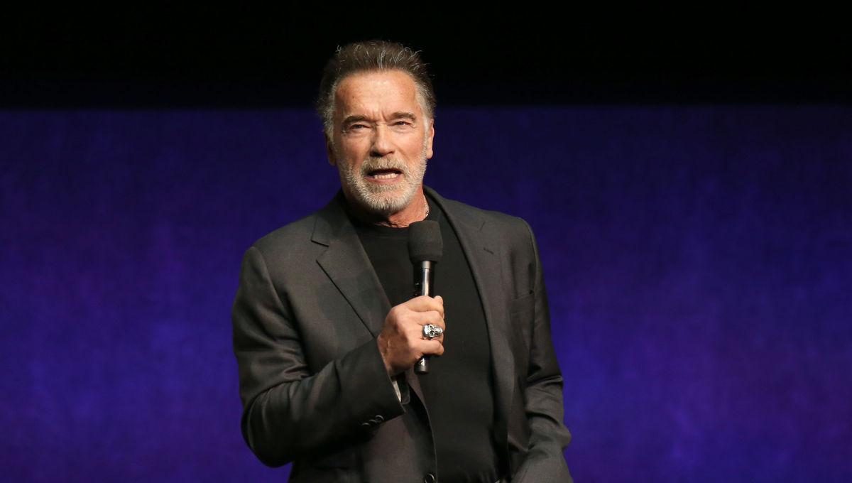 Arnold Schwarzenegger Getty