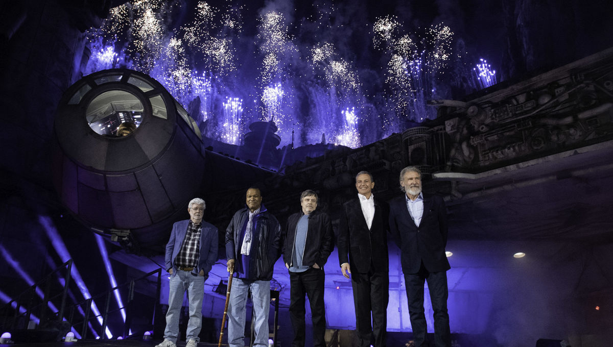 Galaxy's Edge opening Getty Images