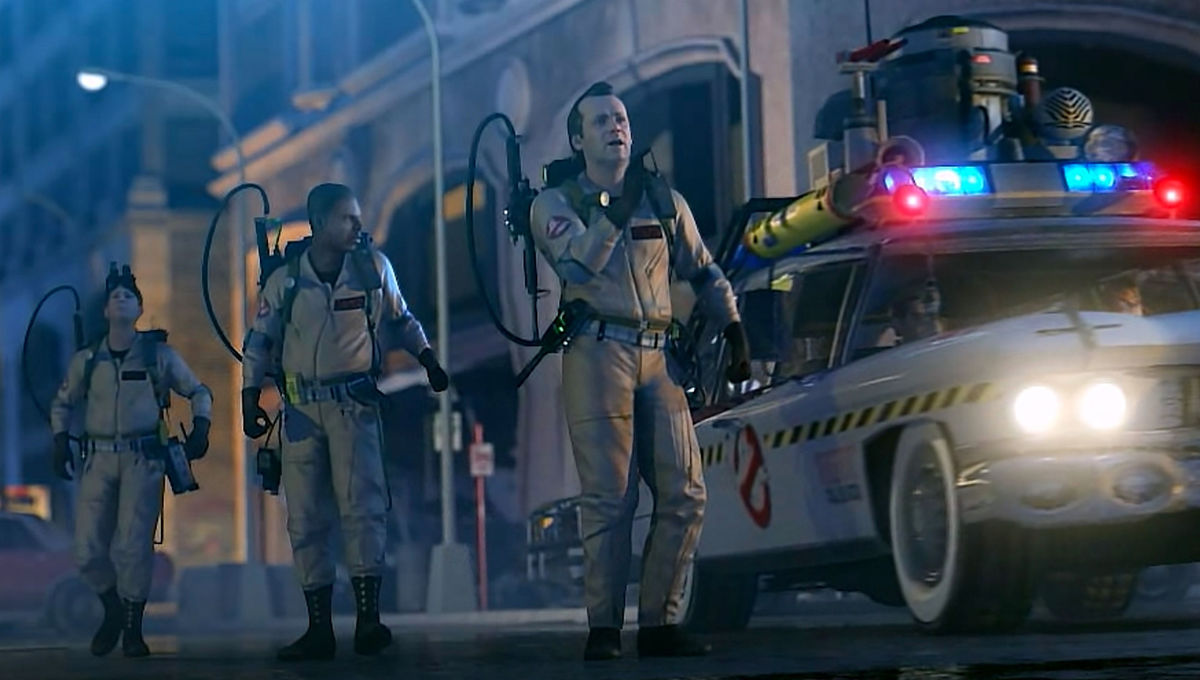 Ghostbusters star in remastered video game