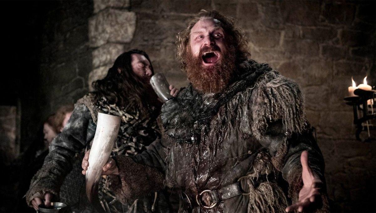 Kristofer Hivju as Tormund in Game of Thrones on HBO