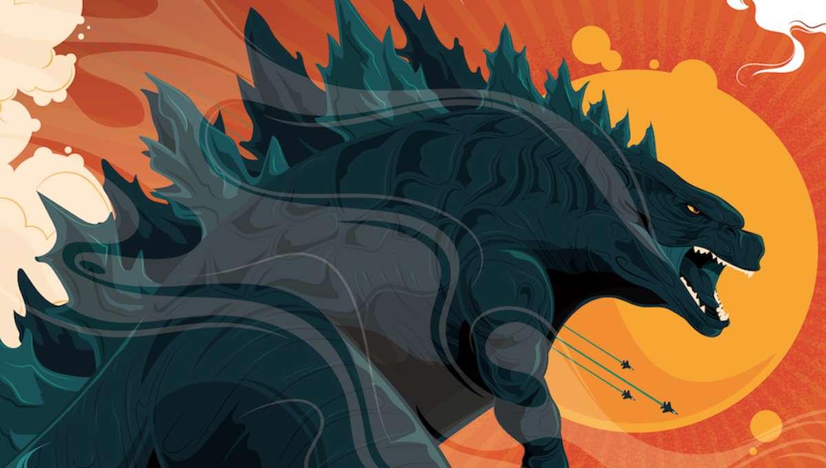 Godzilla Poster Slice