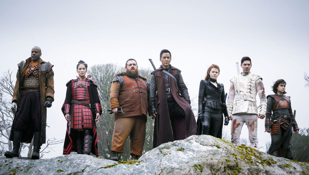 Into the Badlands 316, group
