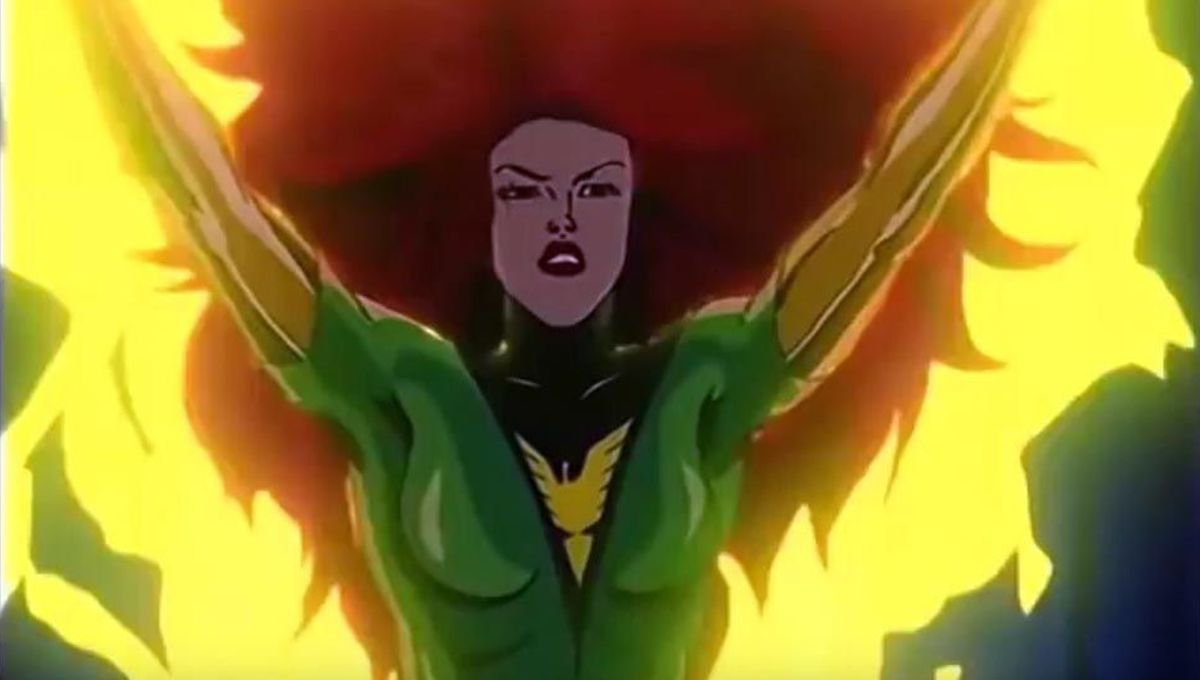 Jean Grey in X-Men The Animated Series
