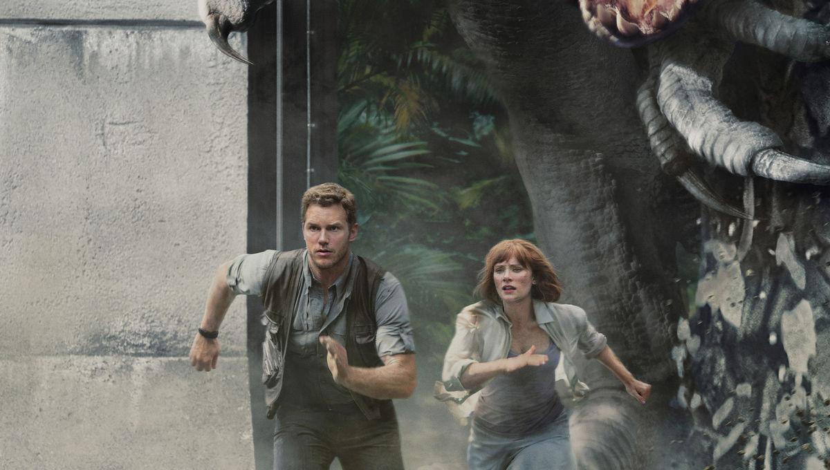 Jurassic World--The Ride with Chris Pratt-Bryce Dallas Howard image